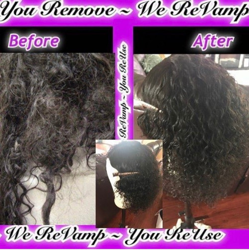 Wig and Bundle Wash and Style Service
