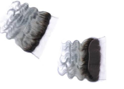 HUE Grey Lace Frontal Closure  13 x 4