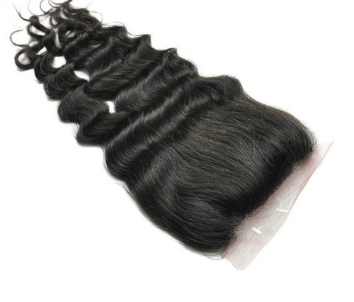 Cambodian Loose Deep Wave  4x4 Closure