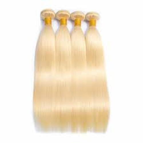 Blonde Straight 4 Bundles