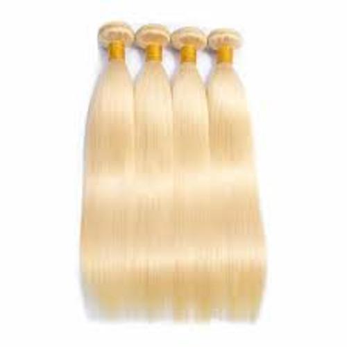 Blonde Straight 4 Bundles