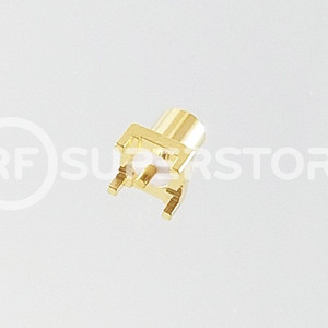 MCX Jack Connector Solder Attachment PCB Through Hole, Gold Plating
