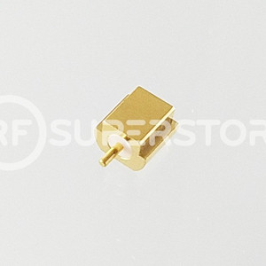 MCX Jack Connector Solder Attachment PCB Surface Mount, Gold Plating