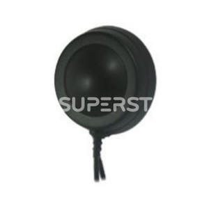 "Glass Mount Antenna, GPS GPS+Cell, Directional/Omni Radiation, 28dBic / 0~2dBi Gain with SMA Male Connector (2"")"