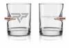 BenShot 11oz Whiskey Glass | Lehigh Defense .308 Solid Copper Bullet
