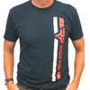Ranger Point Racing Stripe T-shirt | Red, White and Blue