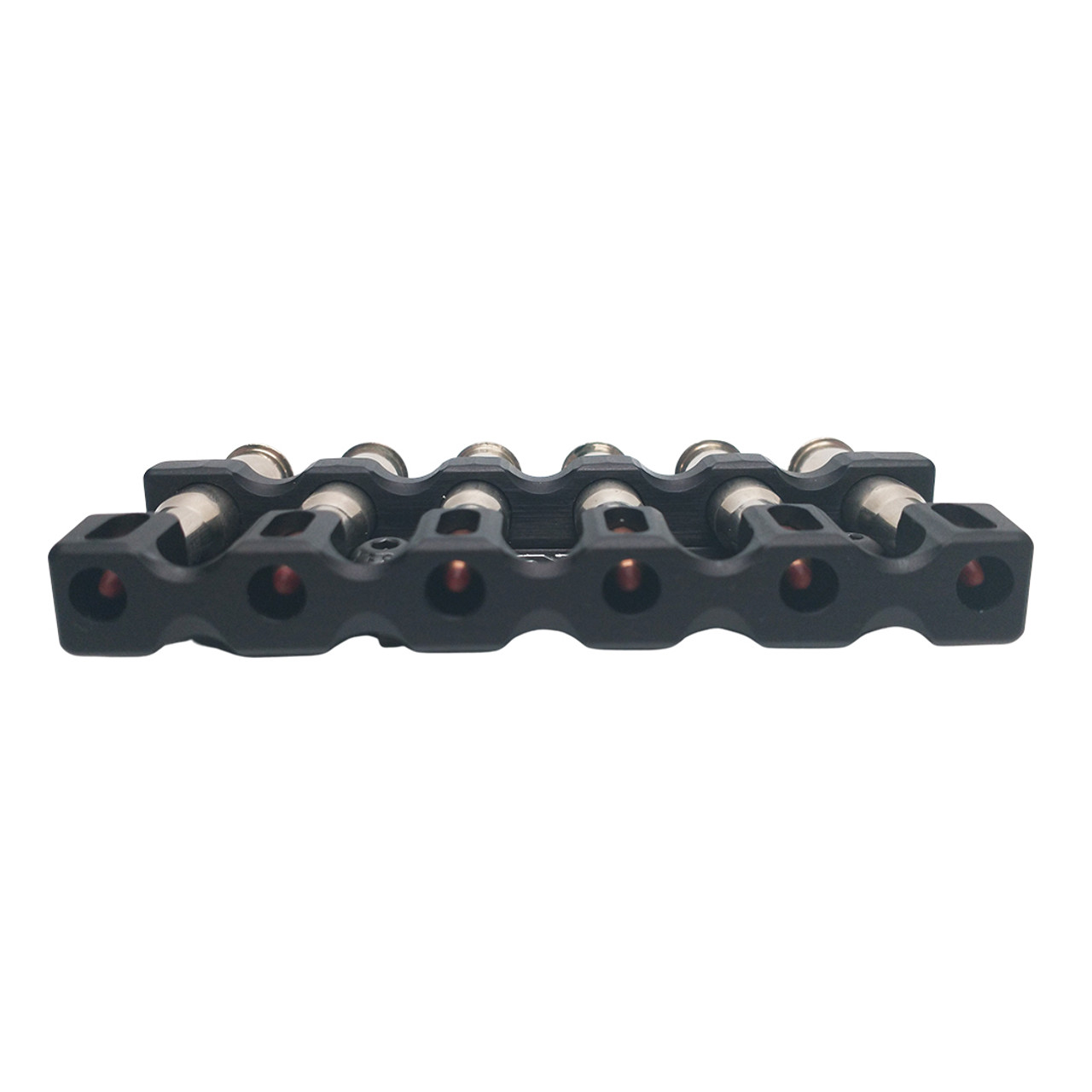 Ranger Point Precision M-LOK 30-30 Win Cartridge Quiver holds six cartridges to complement our popular M-LOK forearm rails for Marlin, Henry, and Rossi lever-action rifles (will also work with any M-LOK rail on the market).