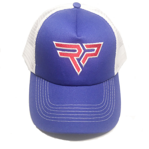 Mesh Back Trucker Cap - RP Logo | Red, White and Blue | USA