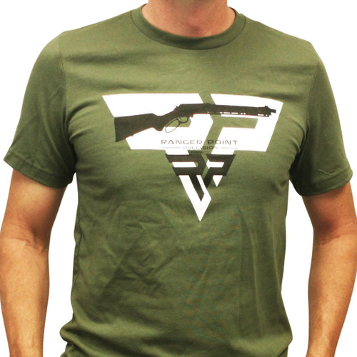 Ranger Point Tactical Lever-Action T-shirt | OD Green, Black, White