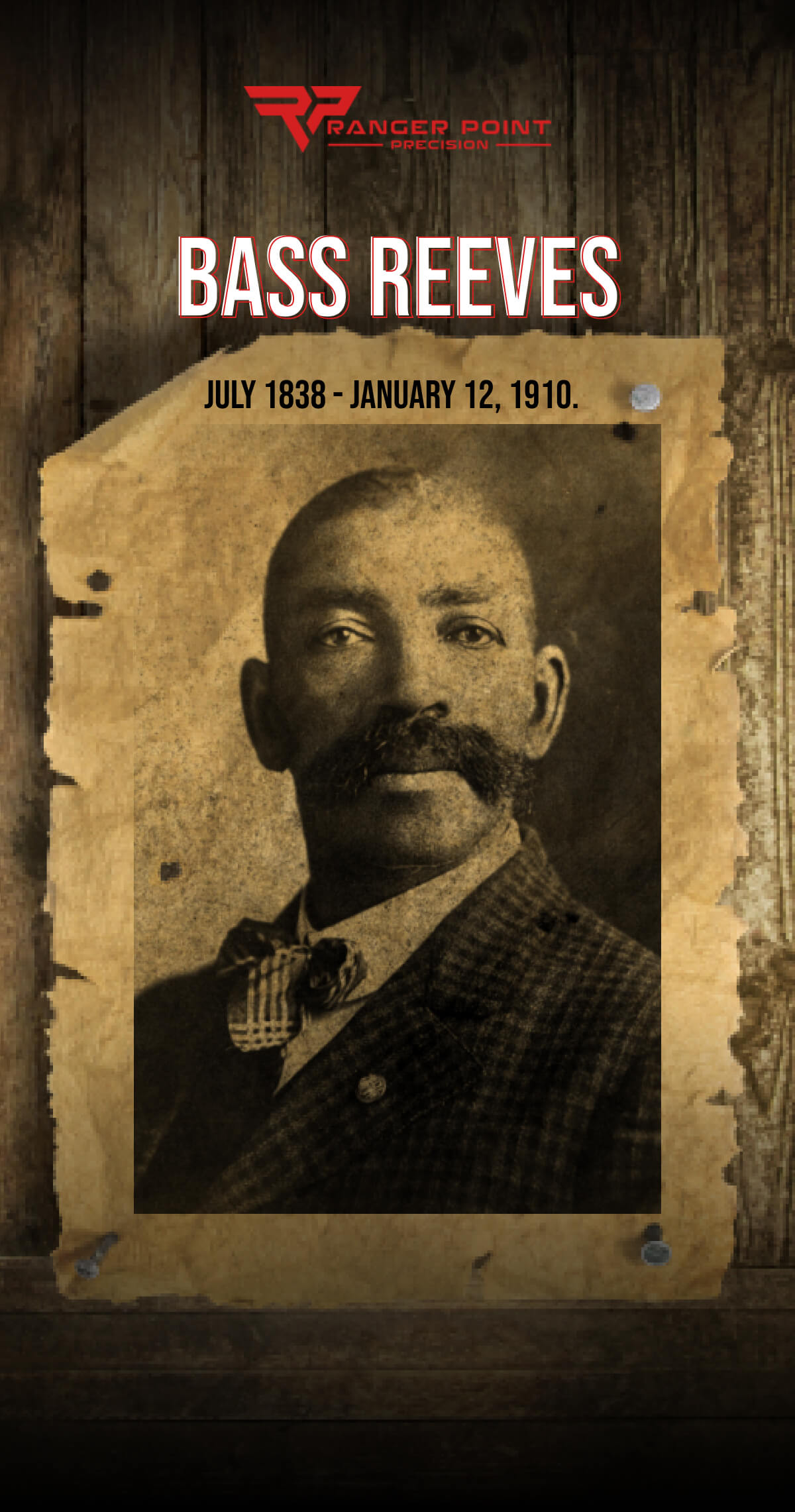 The Lone Ranger: Bass Reeves