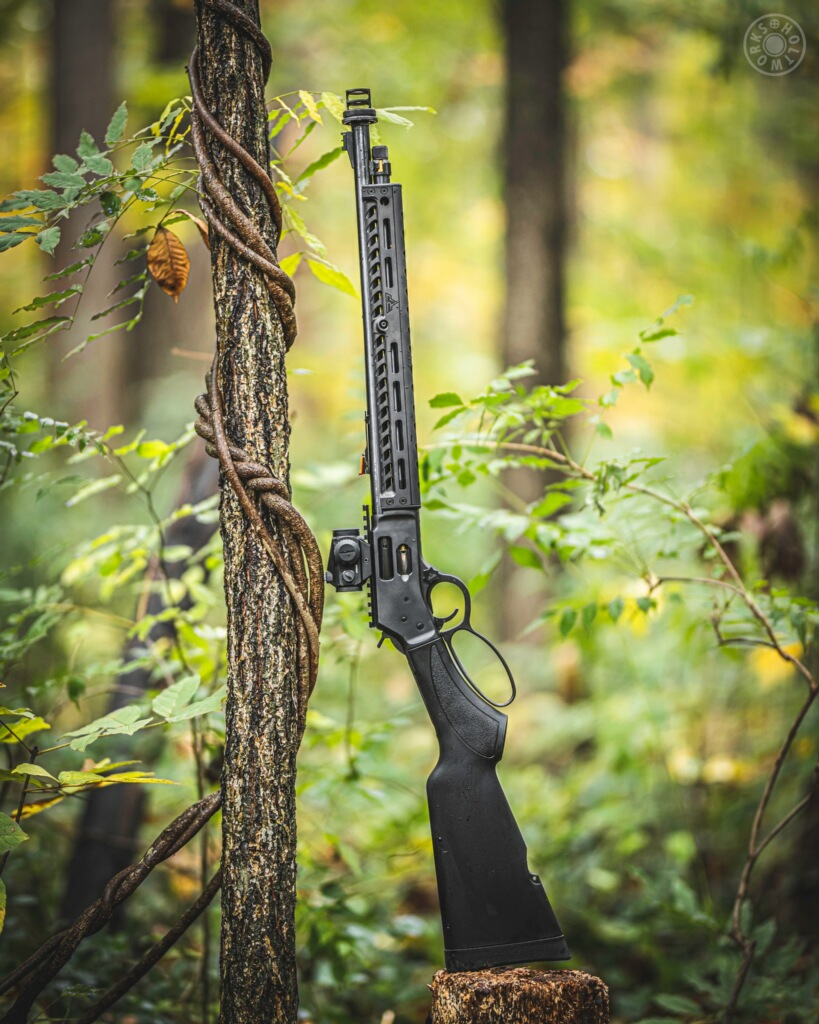 Are lever-action rifles a sensible choice for self defense?