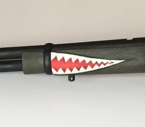 P-40 Warhawk - Marlin 336 30-30 Tribute Rifle