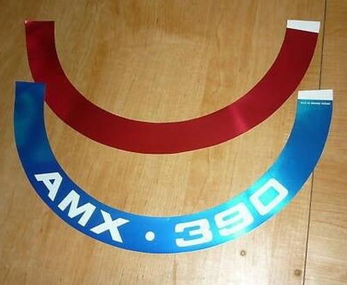 AMC AMX 390 Air Cleaner Sticker