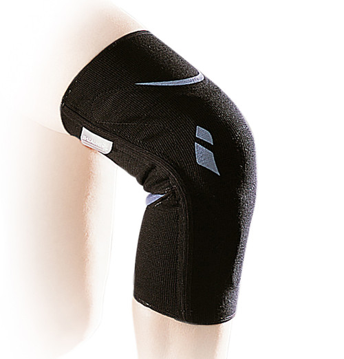 2345 – Silistab Genu Knee Brace with Shock Absorbing Patella Guide – A superior quality and highly supportive elasticated knee support with a Y-shaped patellar insert