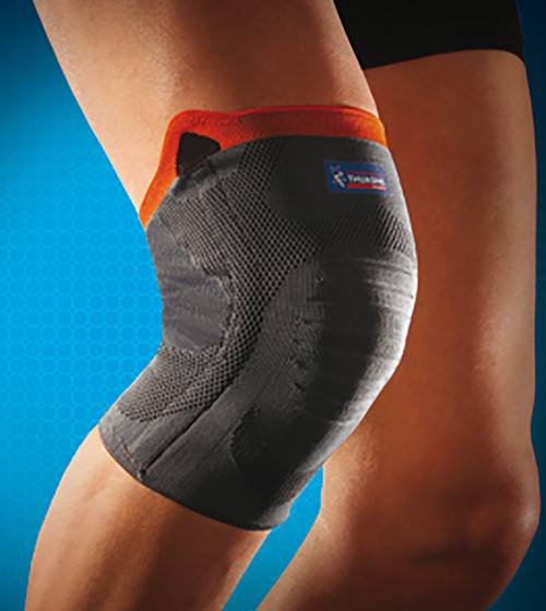 0354 - Reinforced Knee Support – Recommended for mild knee ligament sprains, chronic knee instability, cruciate ligament rupture, to resume sporting activities following mild knee sprains and knee injuries and painful knee conditions.  Available in 5 sizes – small to xx large.