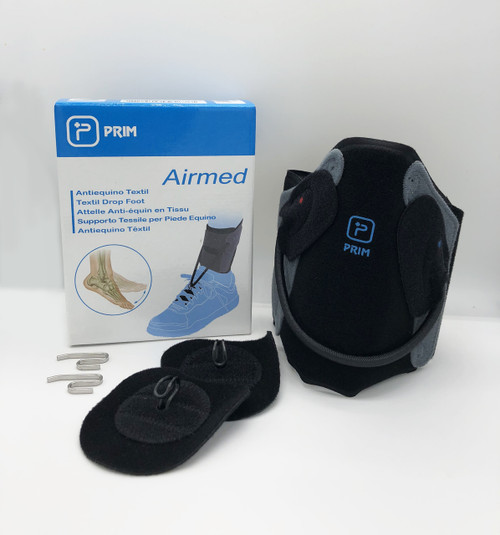 ATX01 Airmed Textile Drop Foot Splint  - NO PLANTAR BAND