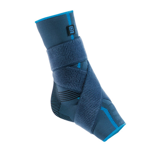 Aqtivo Sport Elastic Ankle Support with Silicone Malleolar pads and Figure-of-eight Strapping