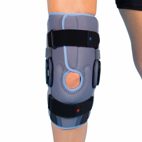 AirTex Semi-Open, Range-of-Motion Knee Brace - Short
