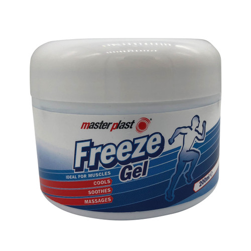 Masterplast Freeze Gel 200ml Resealable Tub