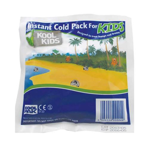 KoolPak Instant Cold Pack for Kids - Pack of 10
