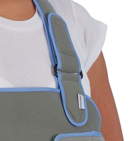 903 – Arm Sling & Shoulder Immobilizer – Recommended for effective shoulder immobilisation and arm support following shoulder surgery or shoulder injury.  Available in 4 sizes.  Fastening Strap.