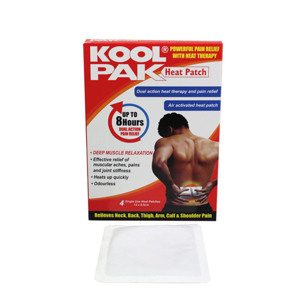 Kool Pak Heat Patch - Pack of 4