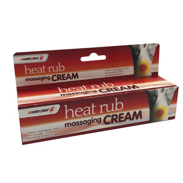 Masterplast Heat Rub Massaging Cream – 70g Tube