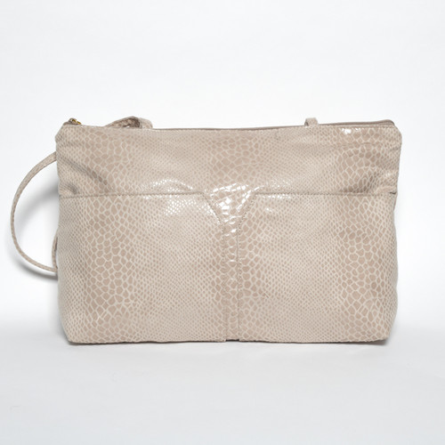 Shayna - Light Taupe Snake