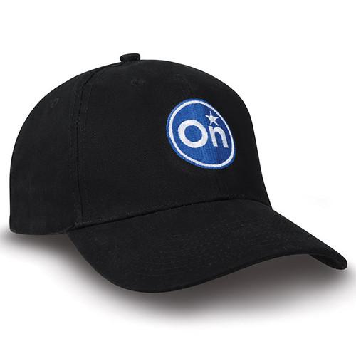 Black Twill Cap
