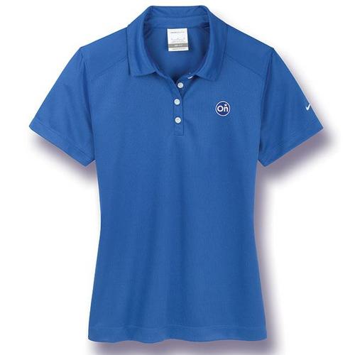Ladies Royal Blue Nike®* Golf Polo