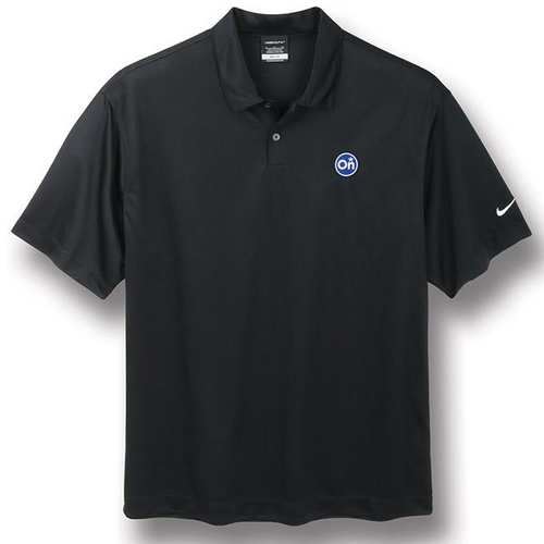 Black Nike®* Golf Polo