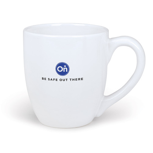 Be Safe Out There White Ceramic Mug