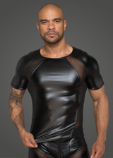 Power Wetlook T-shirt With 3D Net