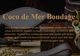 Coco de Mer Leather Range