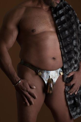 Male Rustic Chastity Belt
