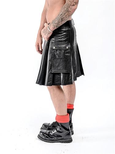 Mister B Leather Kilt