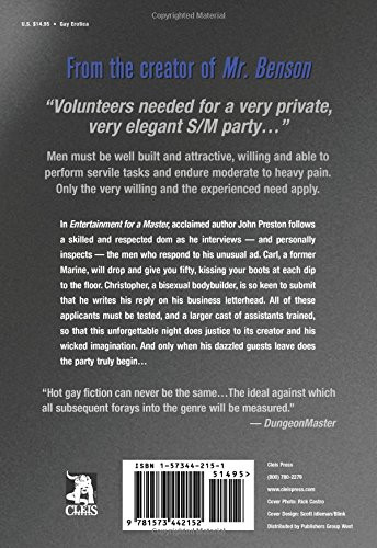 Entertainment for a Master: A Novel