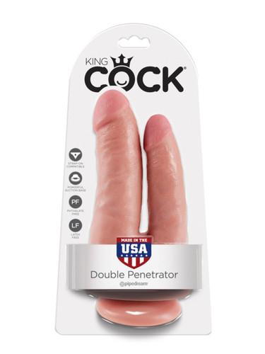 King Cock - Double Penetrator - Flesh