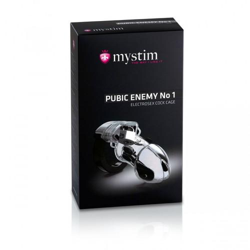 Mystim Pubic Enemy No 1 - Clear