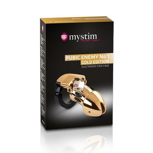 Mystim Pubic Enemy No 1 - Gold Edition