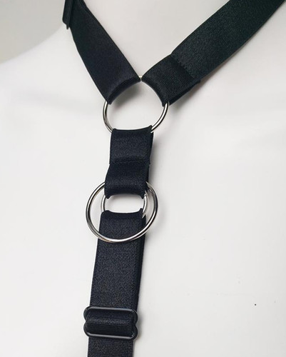 Tux Silver Ring Harness