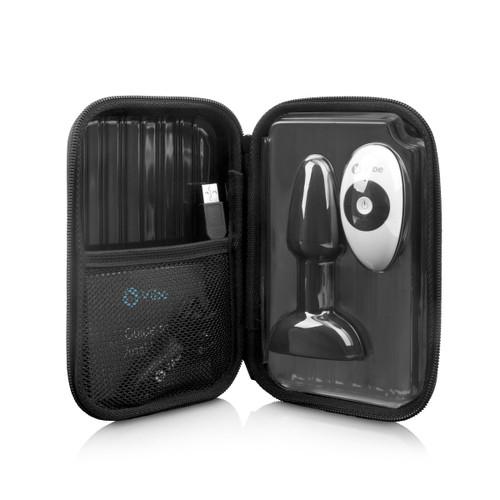 b-Vibe USB Rechargeable Petite Rimming Plug - Black