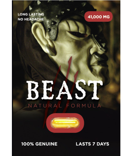 Beast - Natural Formula Performance Pill