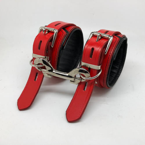 Red & Black Wrist Restraints