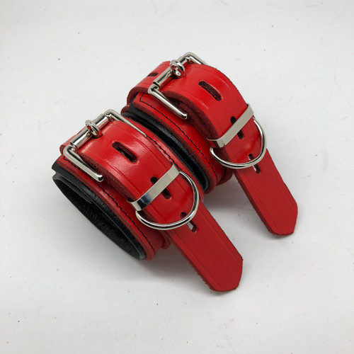 Red & Black Ankle Restraints