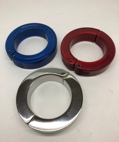 Hinged Chrome Weight - Anodized