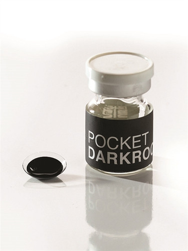 Pocket Darkroom Black Contact Lenses