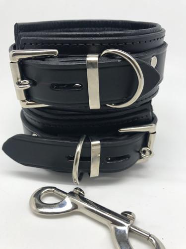 Deluxe Lockable Ankle Restraints