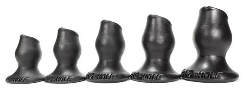 Pighole Fuckplug Set of 5 Black
