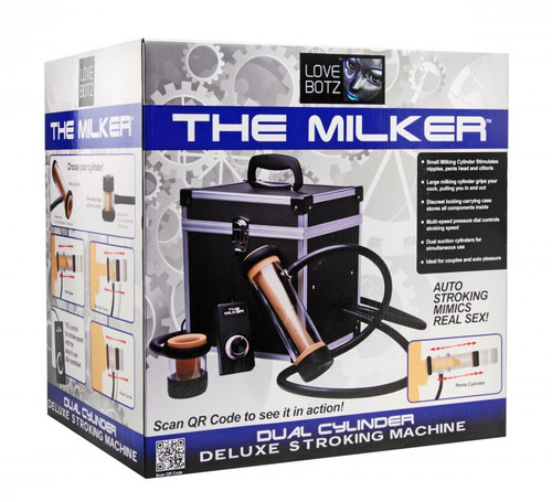 The Milker Automatic Deluxe Stroker Machine
